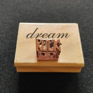 Sz 7 4 Words Square Message Ring